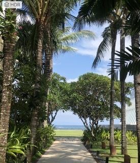 バリ 海に続く小道 ヌサドゥア
