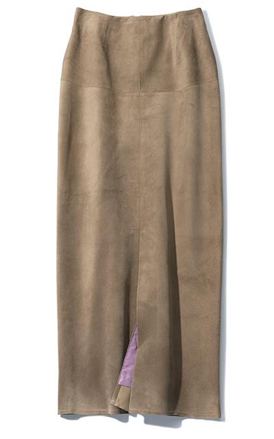 ブルーバード ブルバードのスエードスカート