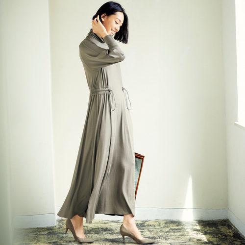 babaco ジャージードレス ¥30,000+税