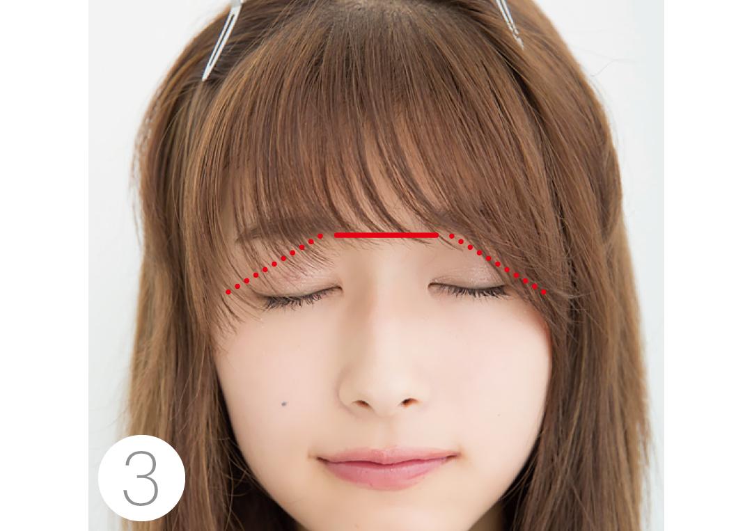 厚めの前髪を、セルフカットでシースルー前髪にする方法★超ていねい解説!_1_4-3