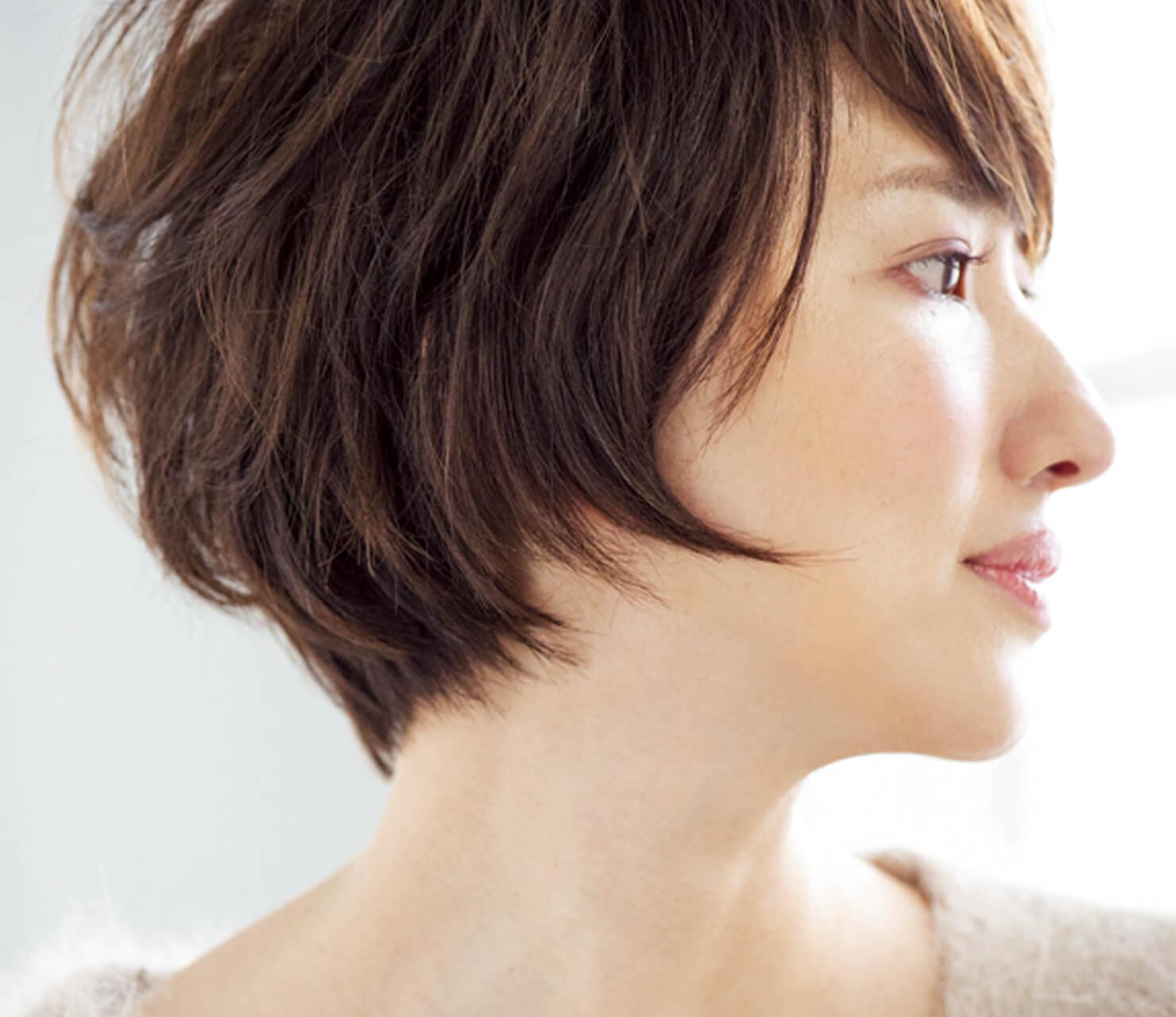 スタイリング楽々で好感度もアップ!40代のためのショートヘア【40代のショートヘア】_1_3