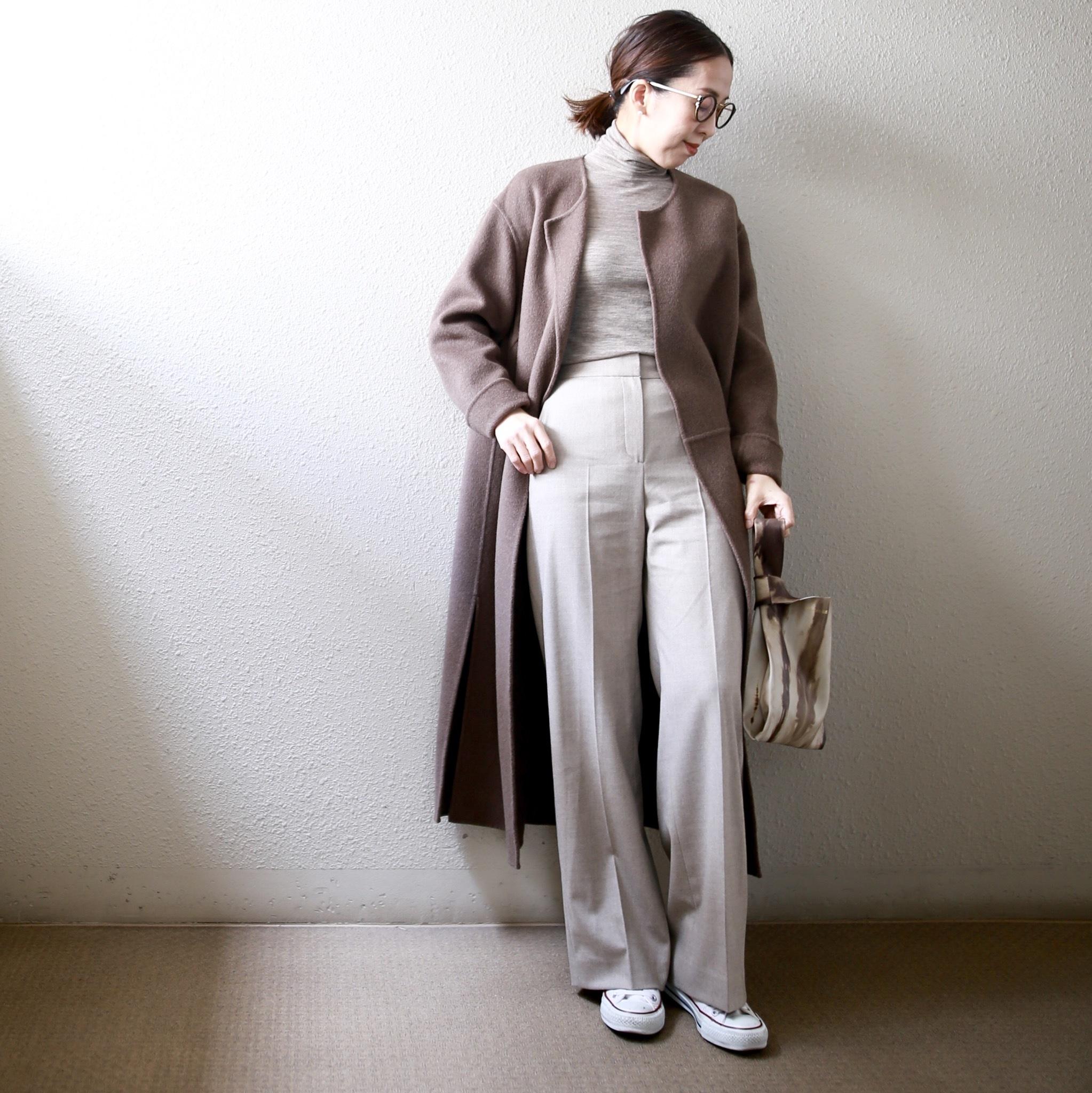 身長低めさんのコート着こなし、サイズ選びより大事なのは?【小柄バランスコーデ術#01】_1_3