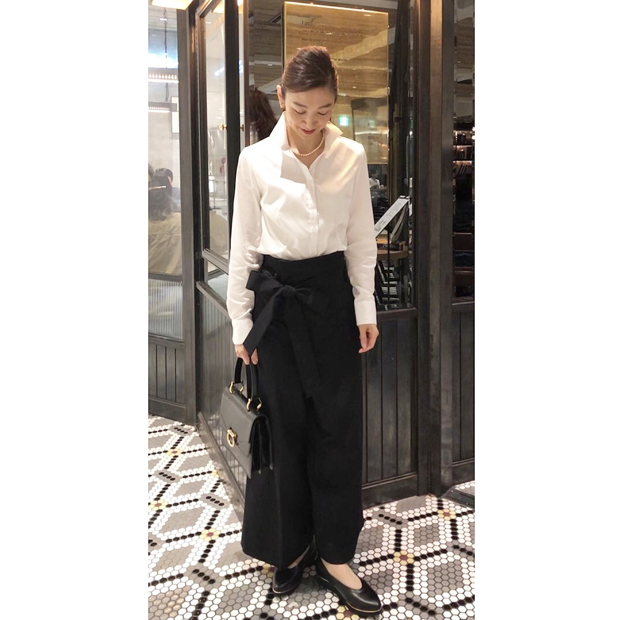 黒スカートで、新宿ビストロカフェへ♩_1_3
