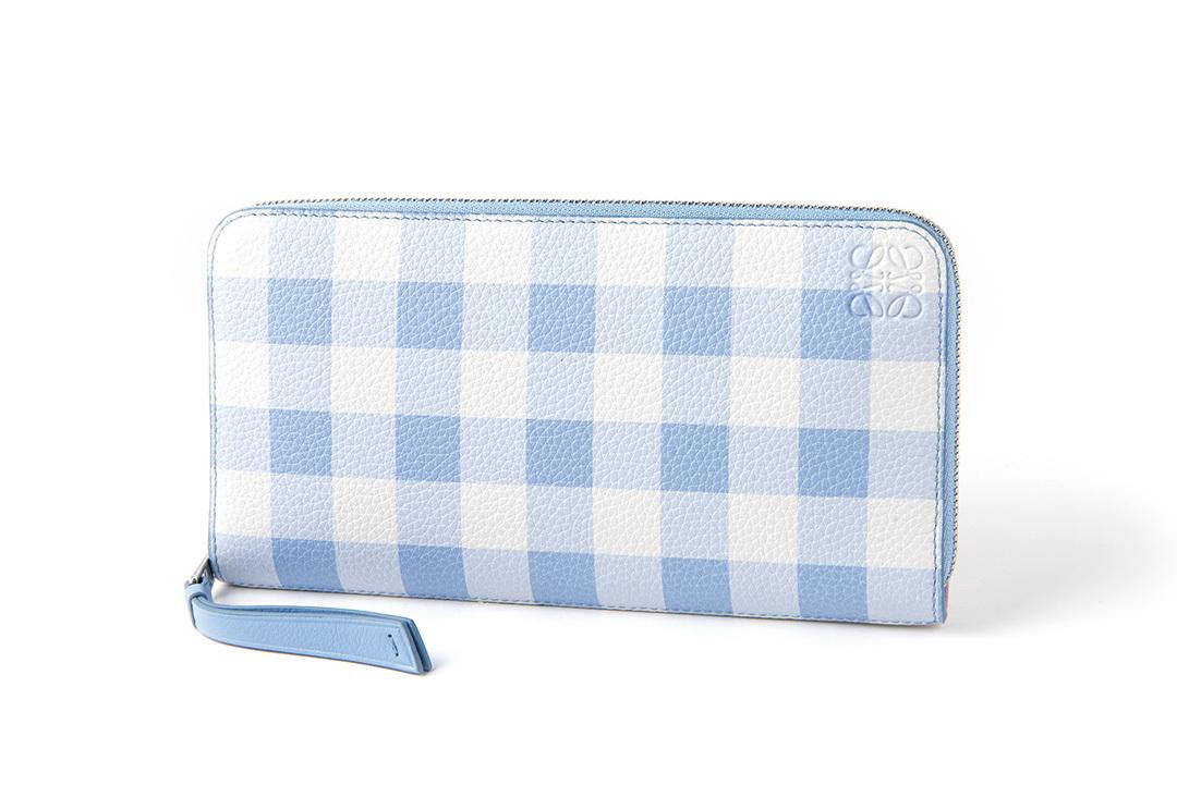 新しいお財布は、ロエベのギンガムチェックシリーズで決まり!【20歳の記念】_1_2-1