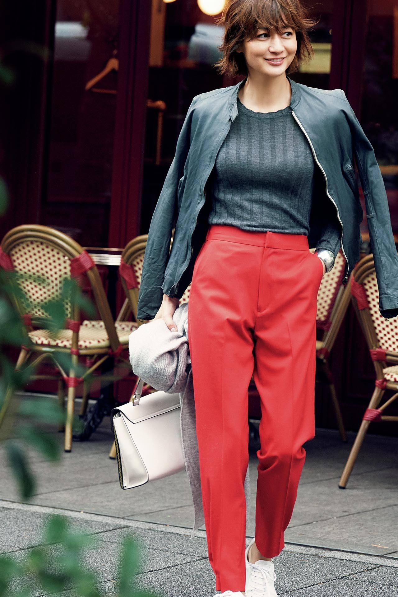 大人を元気に見せてくれる色、「赤」をまとって冬の街へ出かけよう! 五選_1_1-5