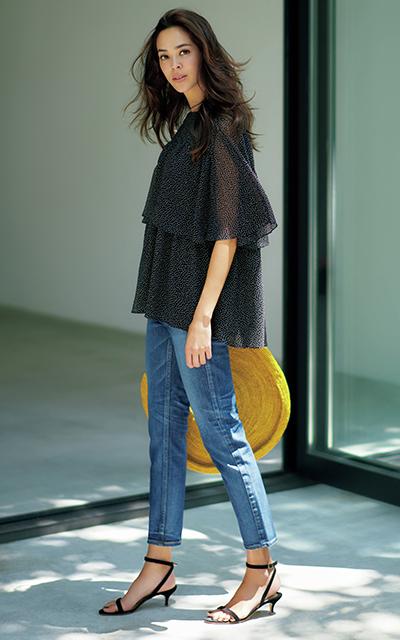 エクラ世代のデザイナーが作る、真夏のJマダムを素敵に見せる服_1_2