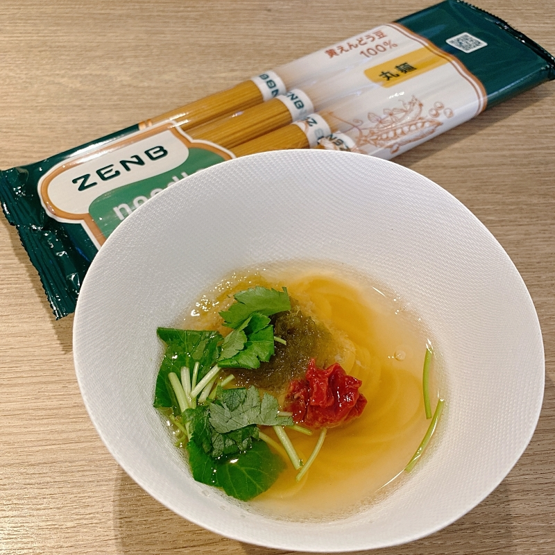 ZENBNOODLEの和風汁麺