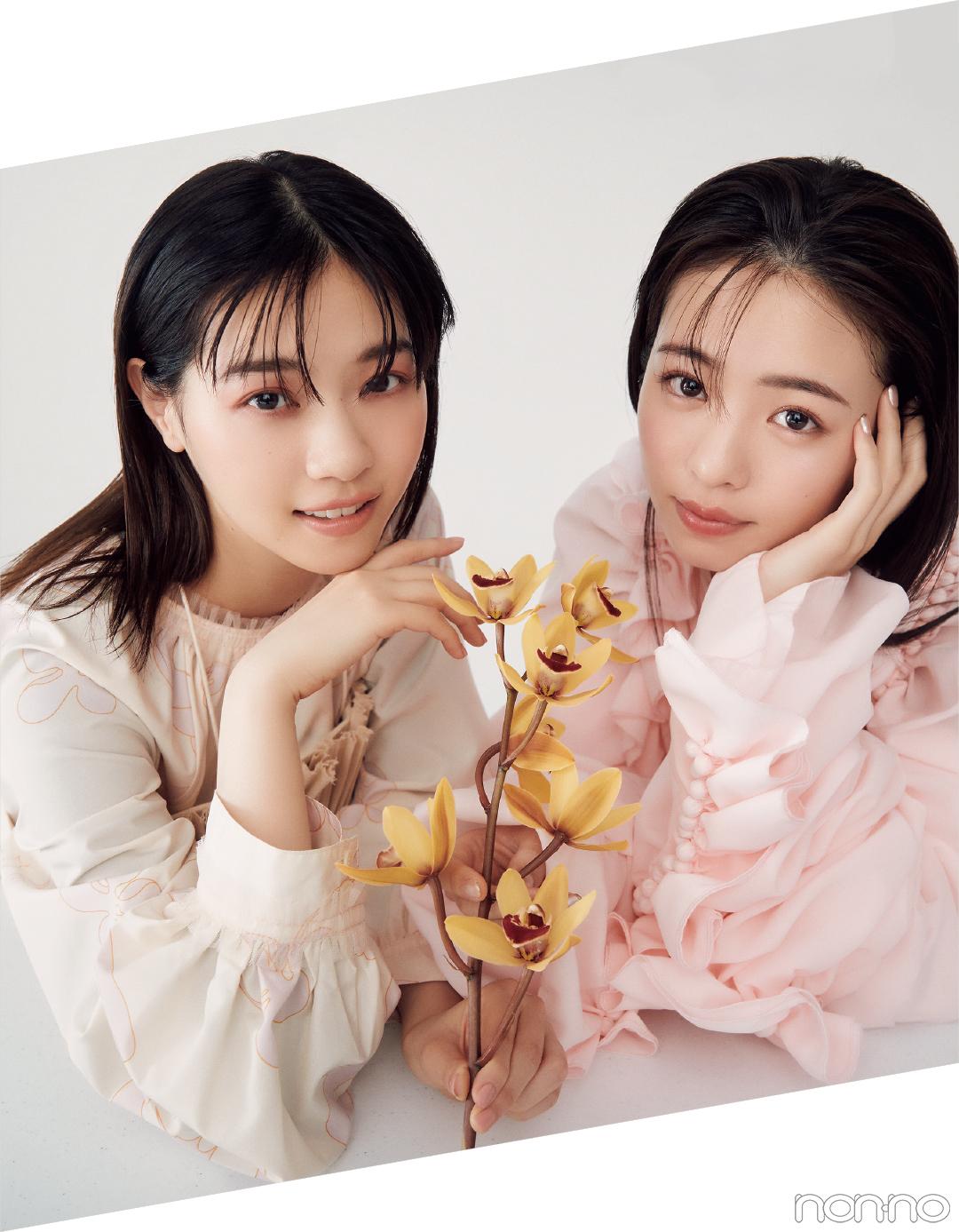 ドラマ『ホットママ』で初共演、西野七瀬×横田真悠対談