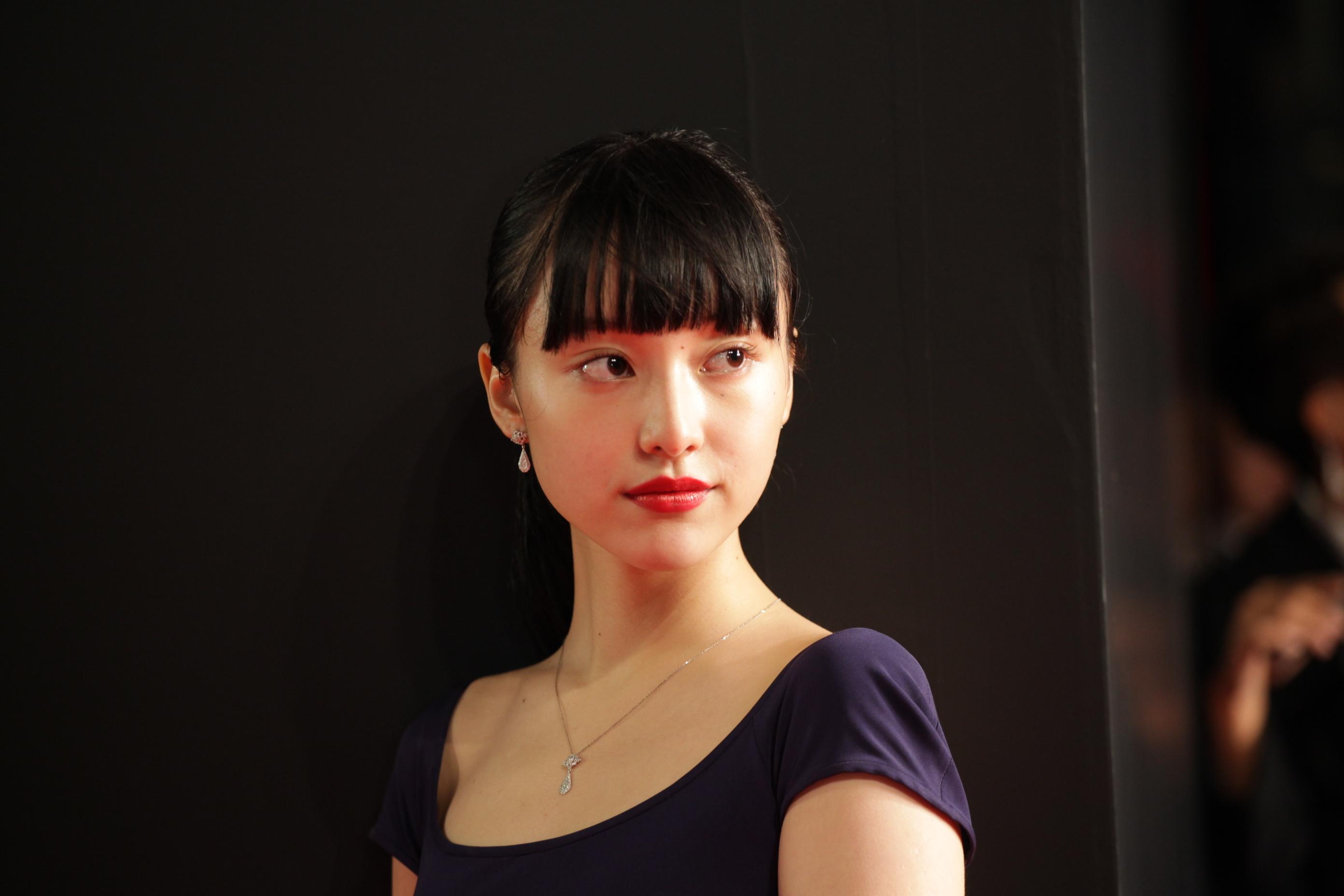 山田愛奈インタビュー★東京国際映画祭レッドカーペットに初登場!_1_2