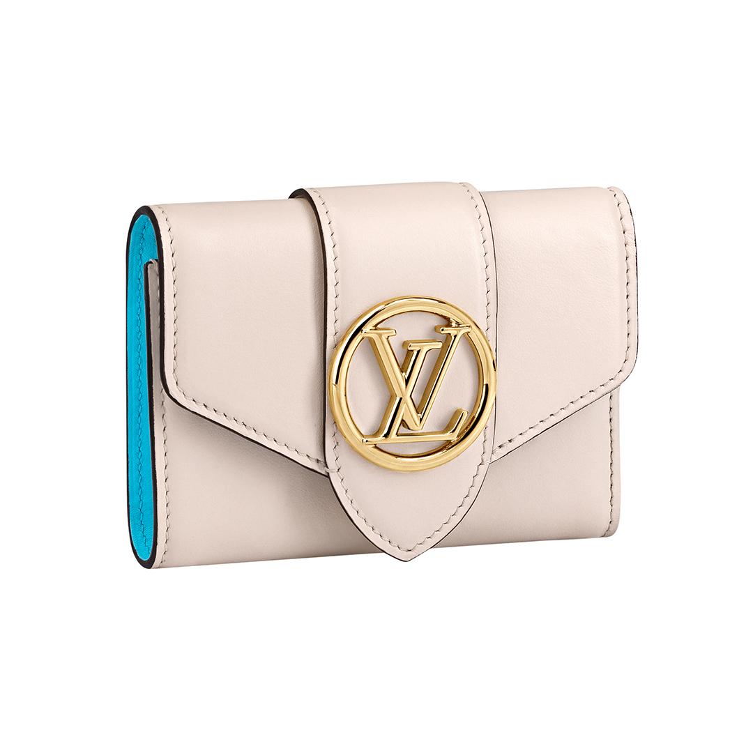 三つ折り財布「ポルト フォイユ・LV ポンヌフ コンパクト」¥100000/ルイ・ヴィトン クライアントサービス(ルイ・ヴィトン)