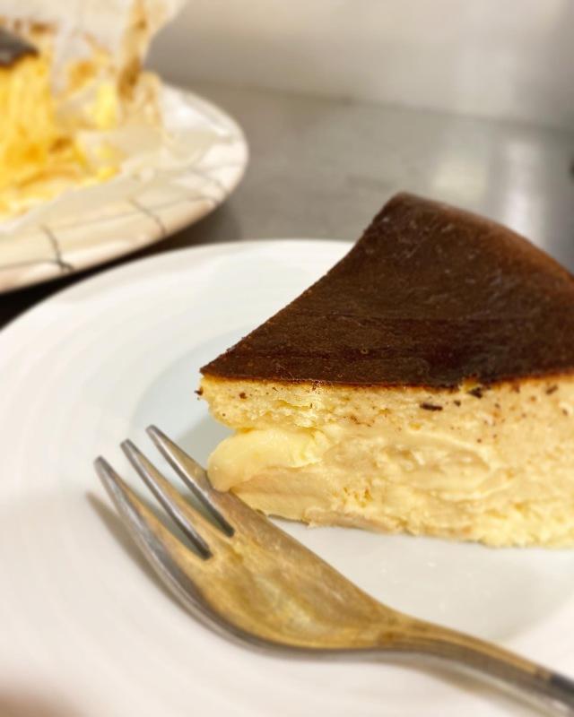 週末におすすめのお菓子作り♡バスクチーズケーキ_1_4-2