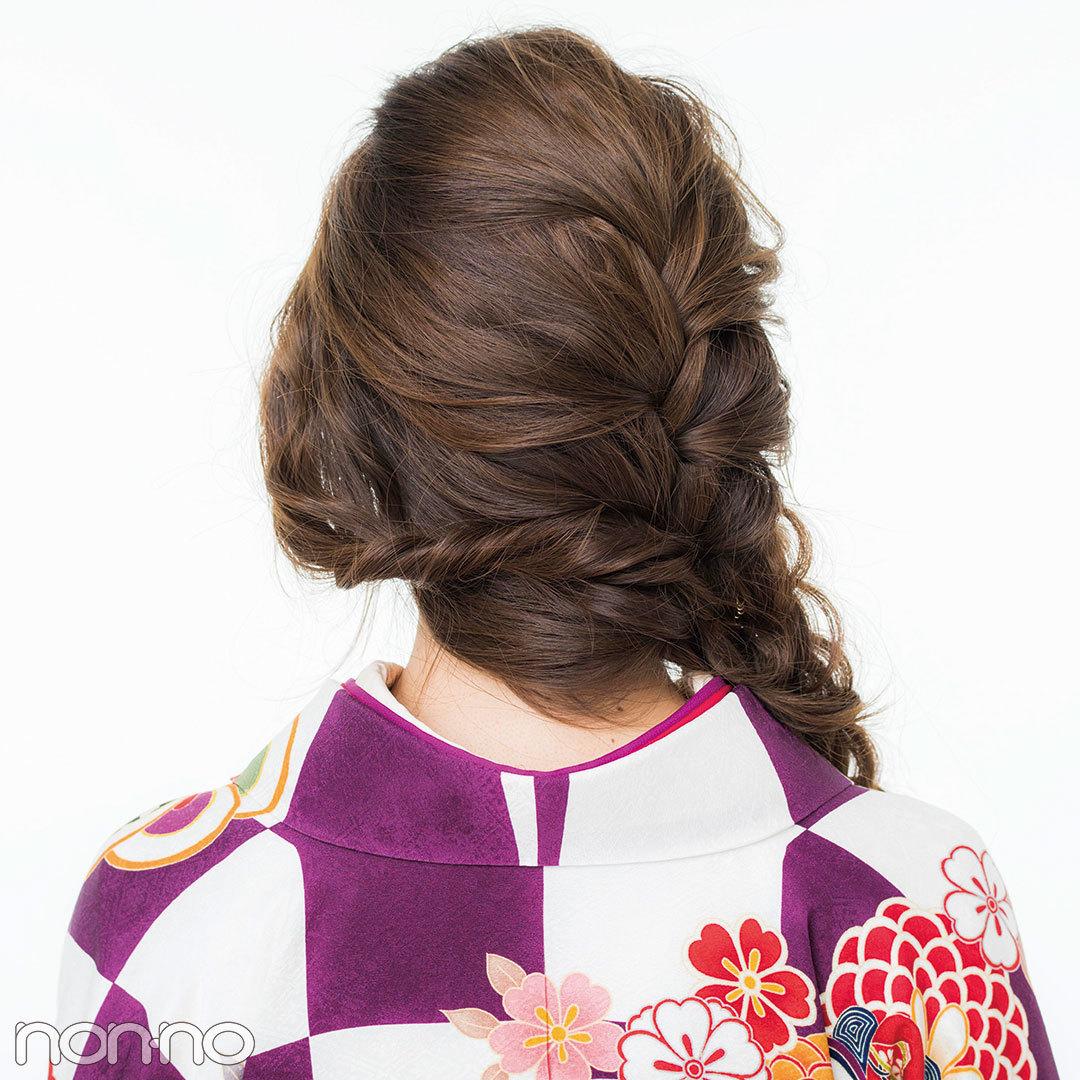 松川菜々花も2018年に成人式! ロングならふわ編みおしゃれ髪型