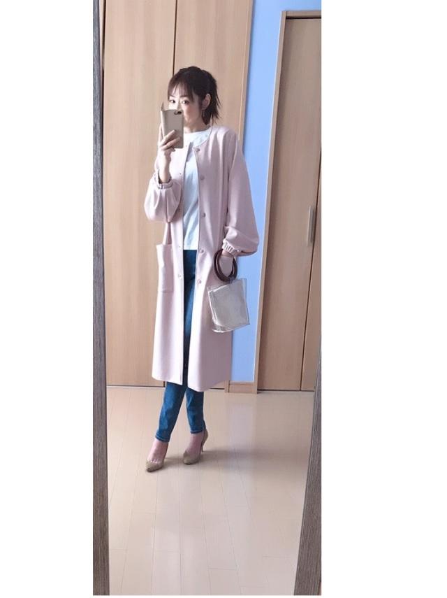 春のピンクでZARA通勤、7,990円ですごいコート買えちゃいます_1_7