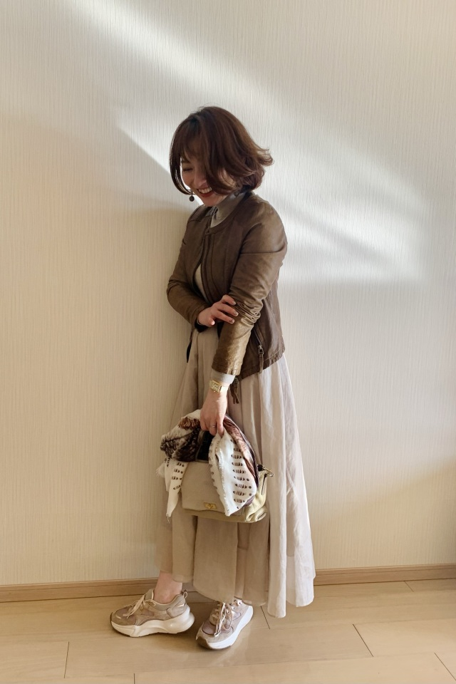 【Marisol別注】エディター三尋木奈保さん×martinique スカート_1_4-1