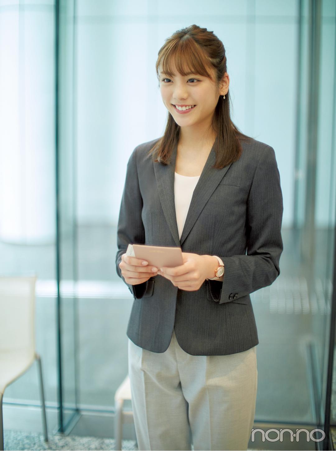 【オフィスコーデ初心者】一番見られるのは名刺交換の瞬間★ふさわしいジャケットとは?_1_2