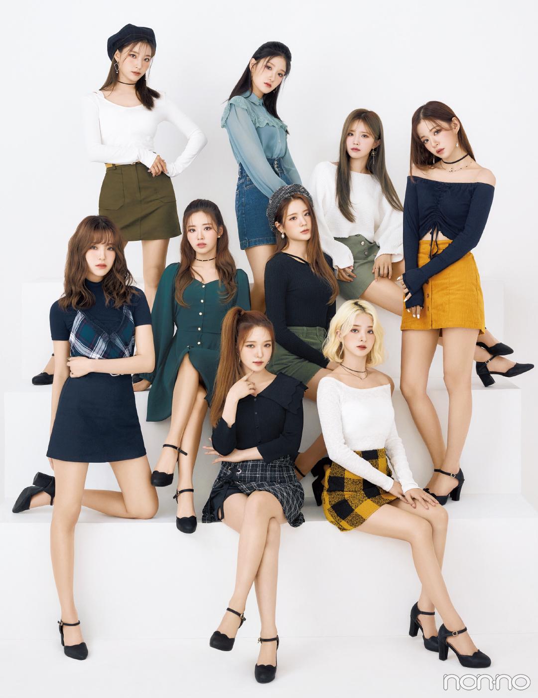 韓国のガールズグループ、fromis_9が初登場! 来日の思い出も♡ _1_2