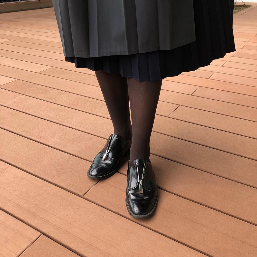 11月号付録「マリソル×ストラスブルゴ ニュアンスグレー<美脚タイツ>」スタッフもコーデに合わせてみました!_1_7