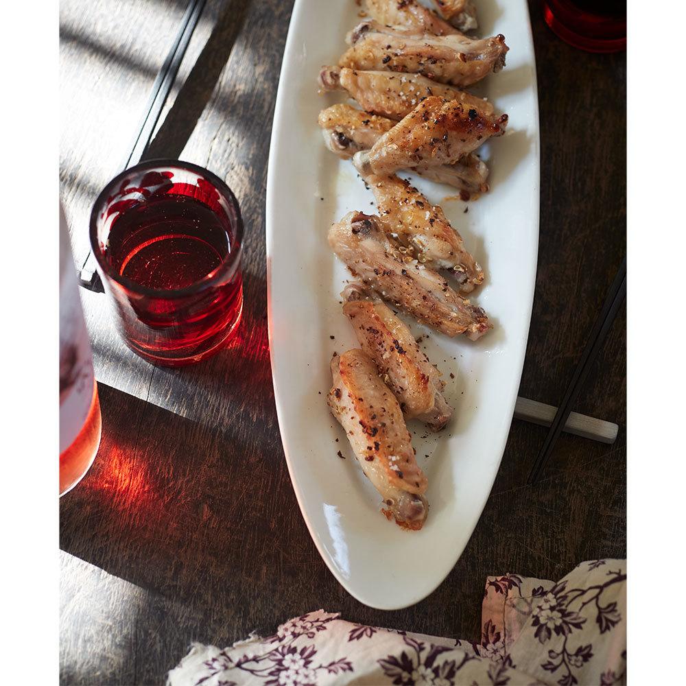 鶏手羽の花椒焼き