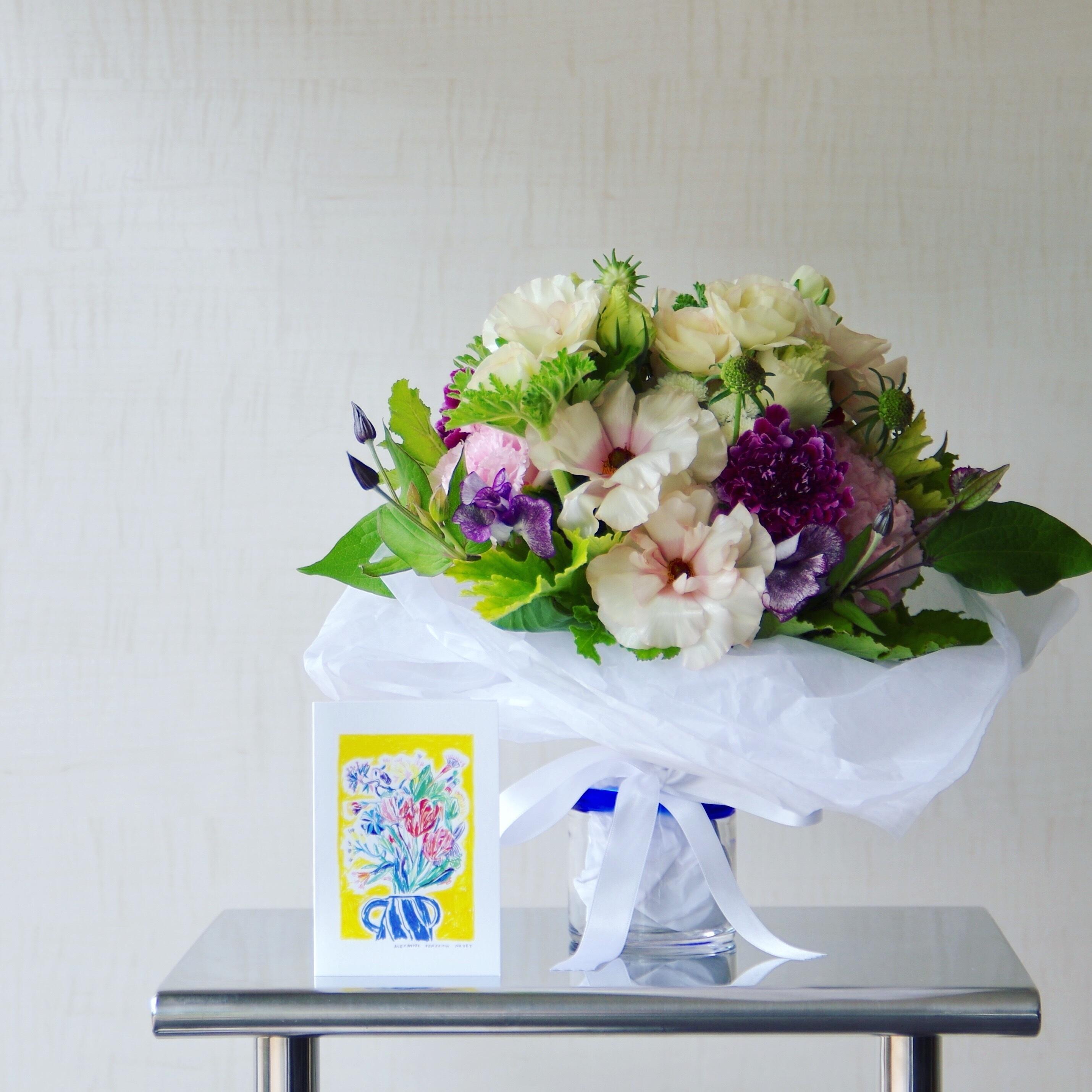 今年も編集部に届いた、春の花。_1_1-1