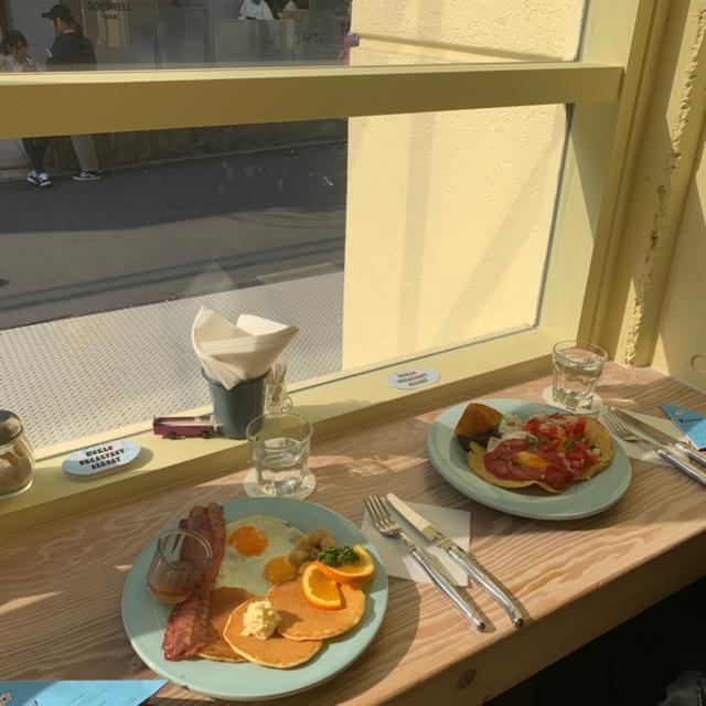 【 朝活 】世界の朝ごはんが食べられるカフェ ☺︎_1_2