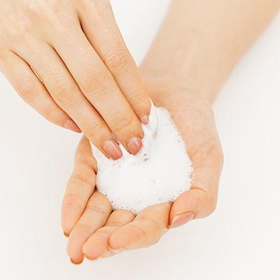 泡洗顔の極意1