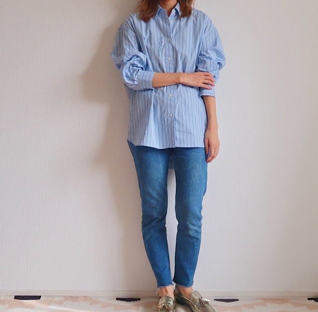 【今1990円】ユニクロユーのゆったりシャツは着るだけでサマになる大人シルエット_1_1