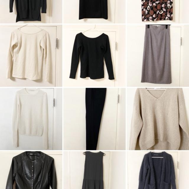 【クローゼットの中①】手持ちの服を全部写真撮影して分かったこと_1_1