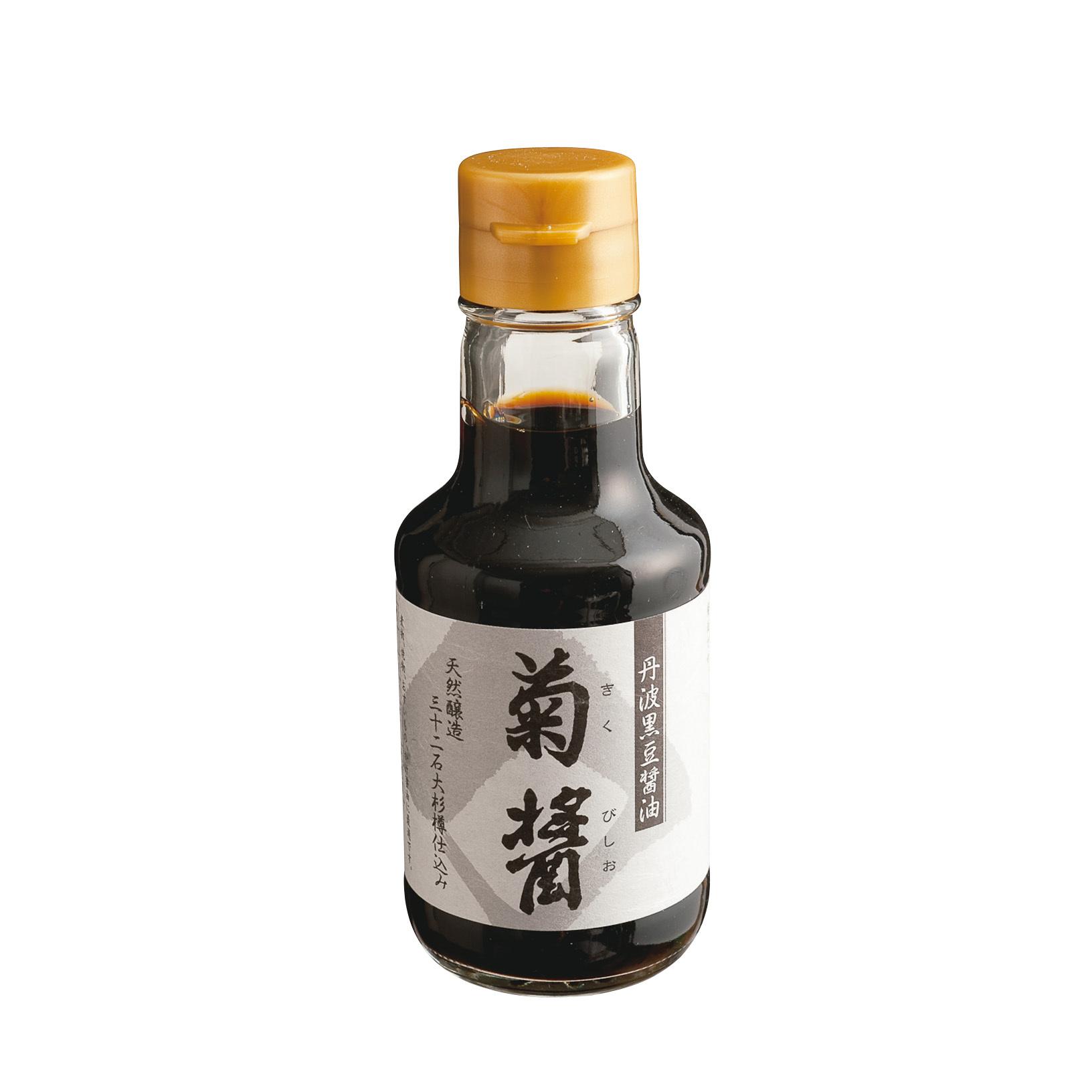 杉樽で長期熟成したヤマロク醤油の「鶴醤・菊醤」_1_2