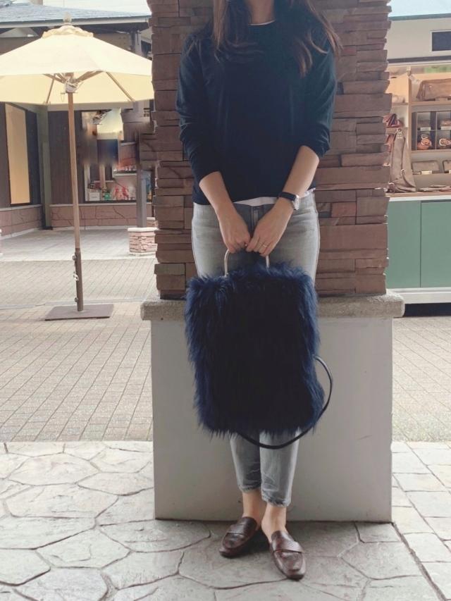 エコファーのバッグ