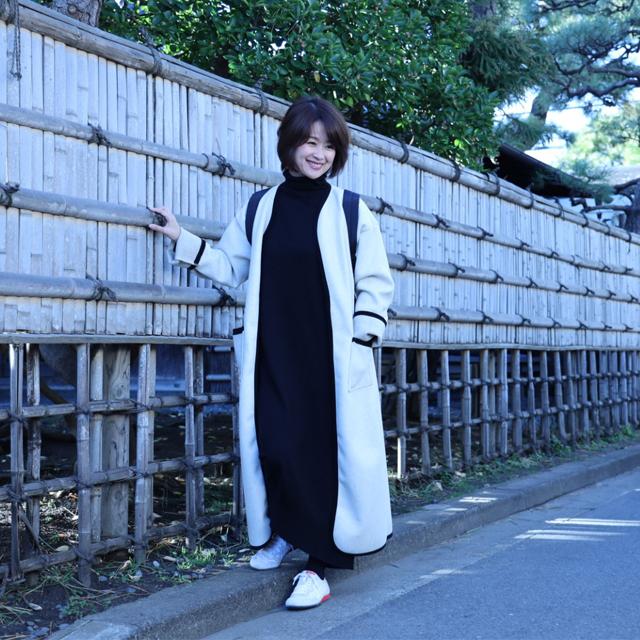楽ちんきれい見えスニーカーで冬の鎌倉散策