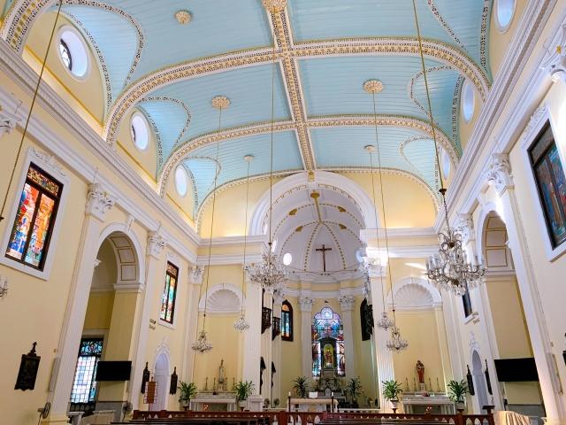 マカオ ローレンス教会