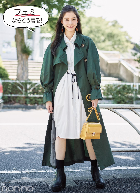 私服がおしゃれ♡ 新木優子がこの秋予約したトレンチコートって?_1_3-1