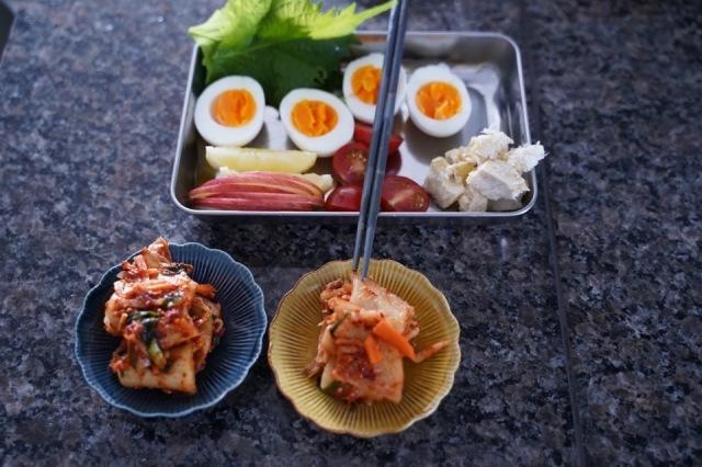 ■初夏におすすめ韓国風冷麺の材料