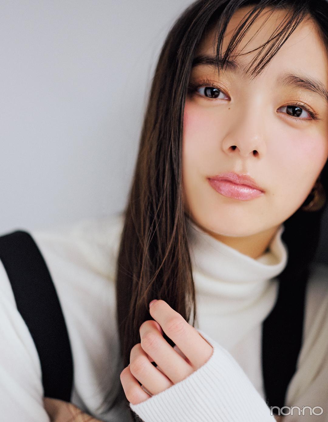 新川優愛の幸せ顔のヒミツ♡ オン&オフのセルフメイク術を超ていねい解説! _1_2