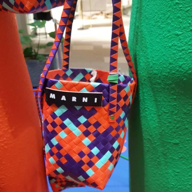 MARNI STONE MARKETへ♪ピクニックバッグは秋まで使える断トツお洒落なかごバッグ_1_3-3