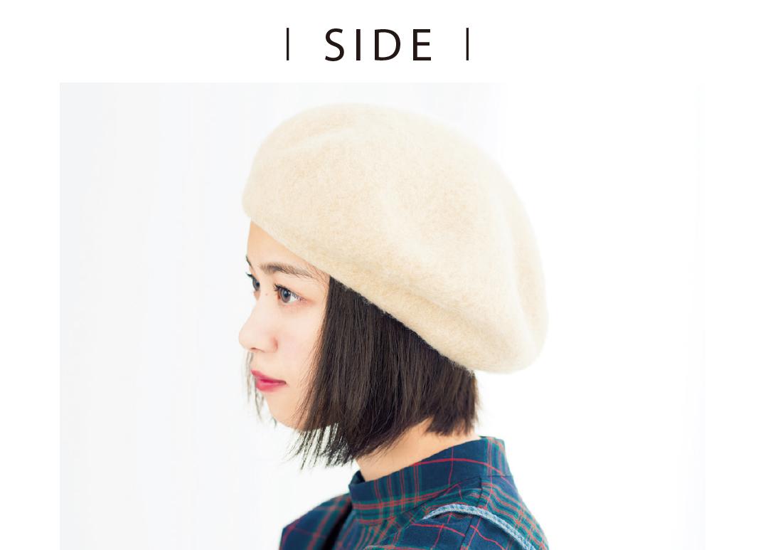 七瀬ボブのヘアアレンジ♡ ベレー帽でおしゃれ度アップ!_1_2-1