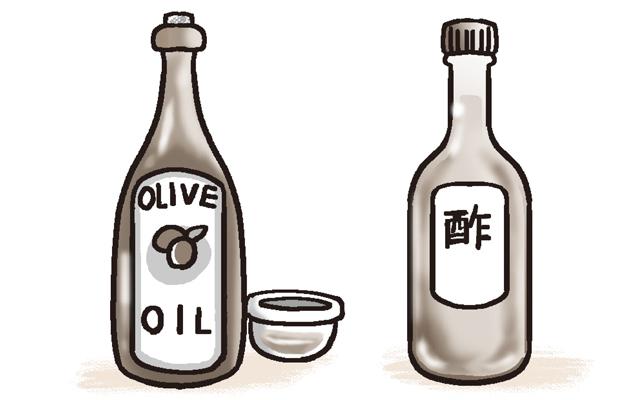 油や酢など、血糖値を上げにくい調味料を有効に使う