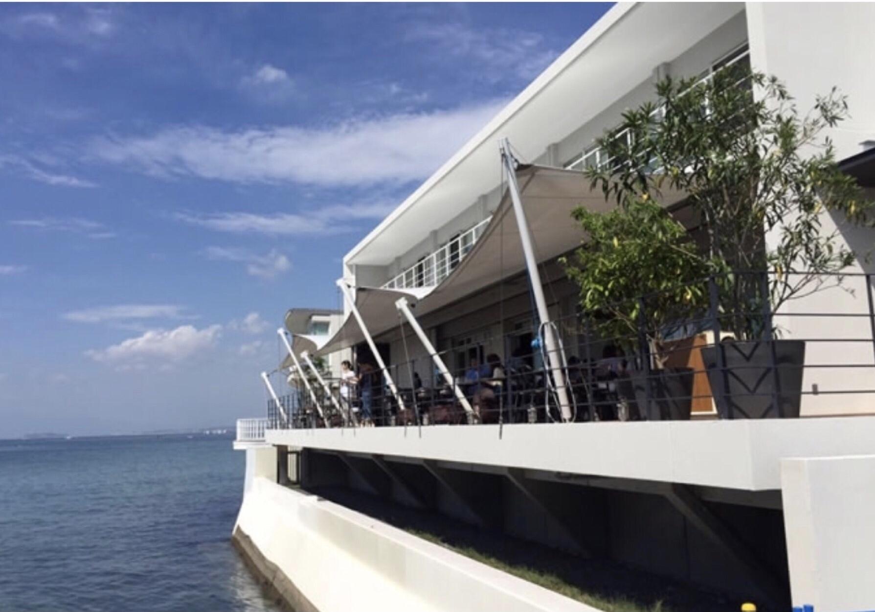 ZARAの夏コーデで海辺のレストランへ☆_1_1