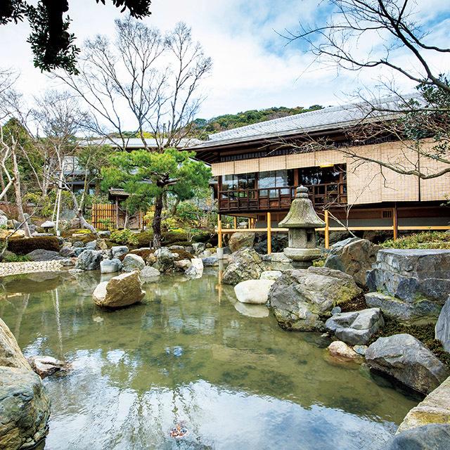 創業143年の「大和屋」が昭和24年にこの地に開業した料亭「山荘 京大和」