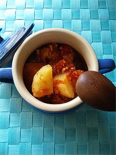 トマト缶で、野菜たっぷり♪ヘルシー洋風肉じゃがレシピ_1_1