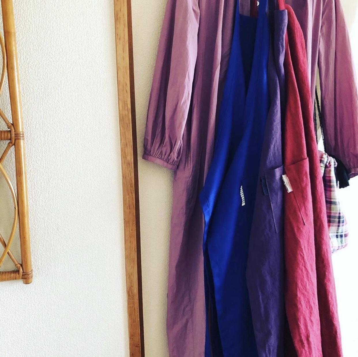 服を纏うようにエプロンを 〜秋の手仕事②_1_2-1