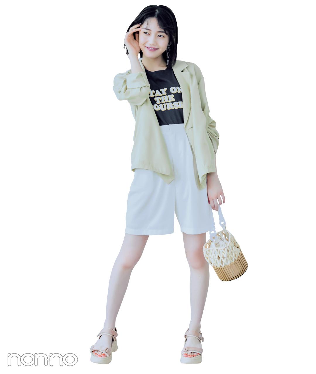 松川菜々花のなじむサンダルモデルカット6-1