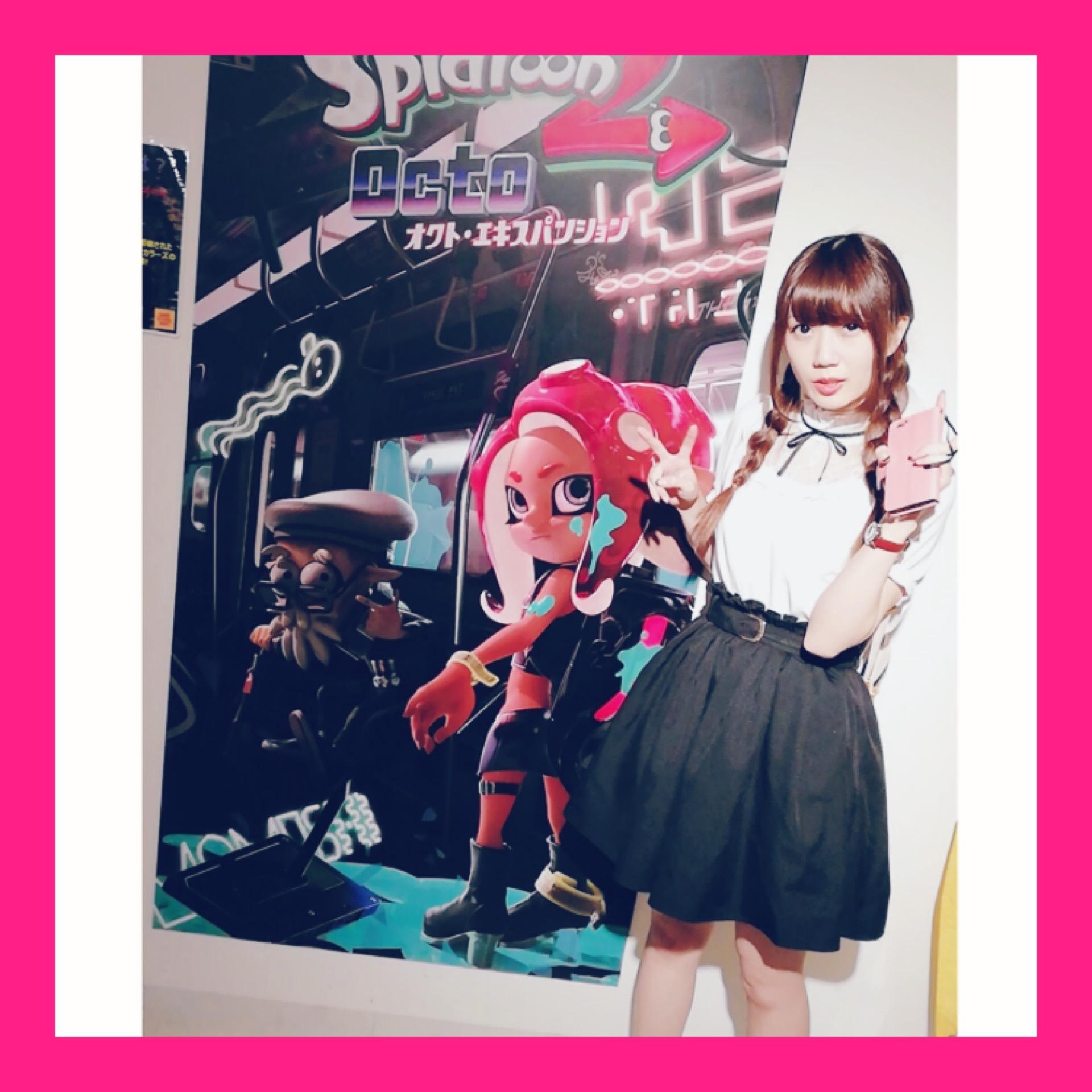 【Splatoon展】Shibuyaタワレコに行ってきました♡_1_2-1