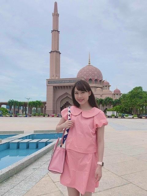 映え女子旅♡ピンクとブルーのマスク in マレーシア_1_1