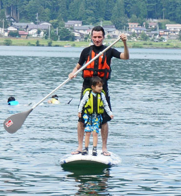 長野県・木崎湖でSAPに挑戦!_1_3