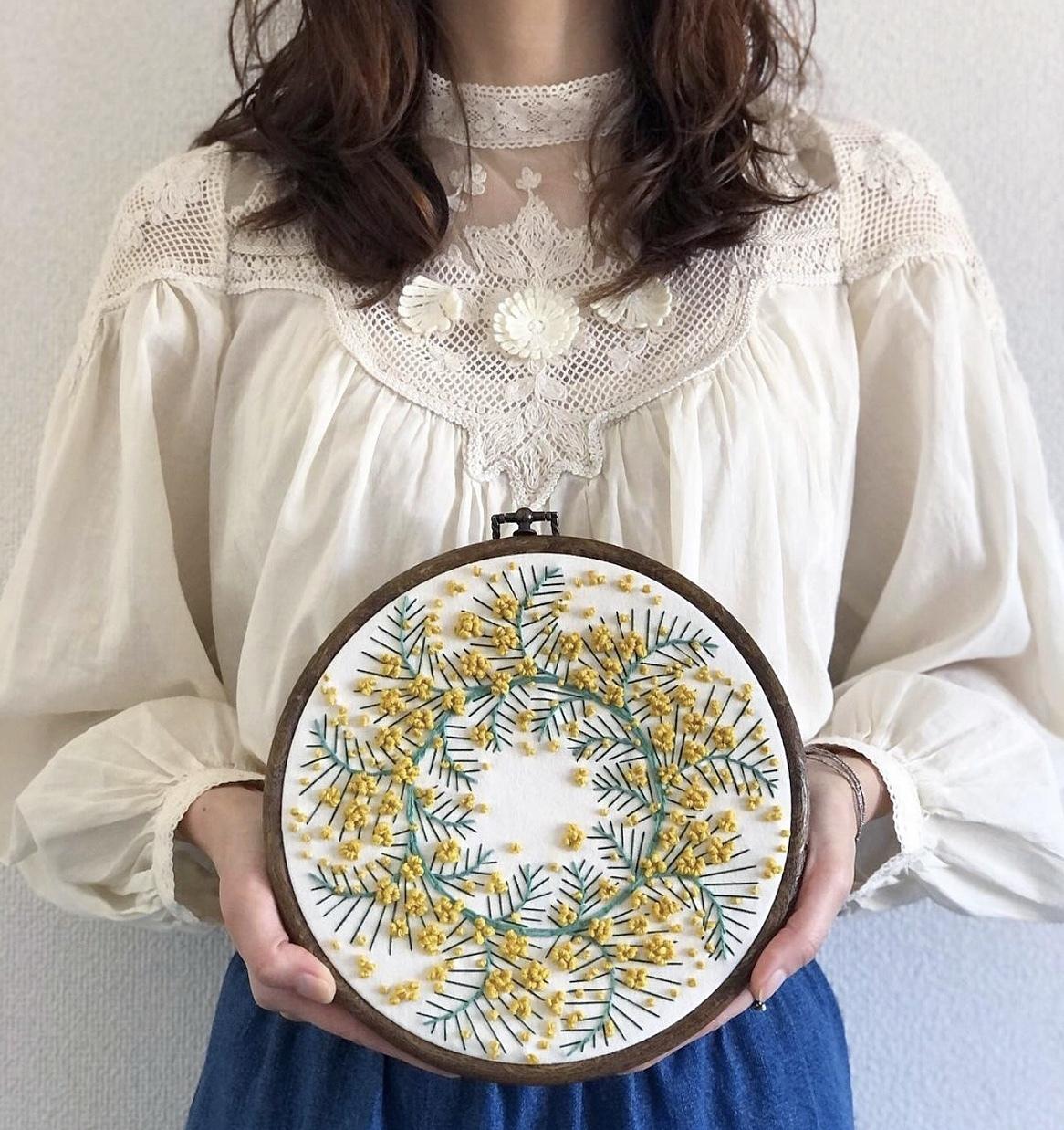 ZARA刺繍レースブラウス+デニム♡_1_3