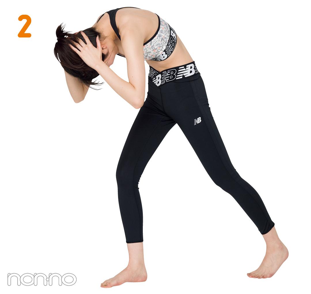【美姿勢トレーニング vol.2】 1回30〜60秒! 反り腰防止の立ち腹筋に挑戦!【動画あり】_1_10