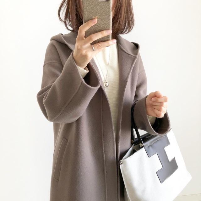『私はこれを買いました!』2020秋冬コート第2弾【tomomiyuコーデ】_1_2