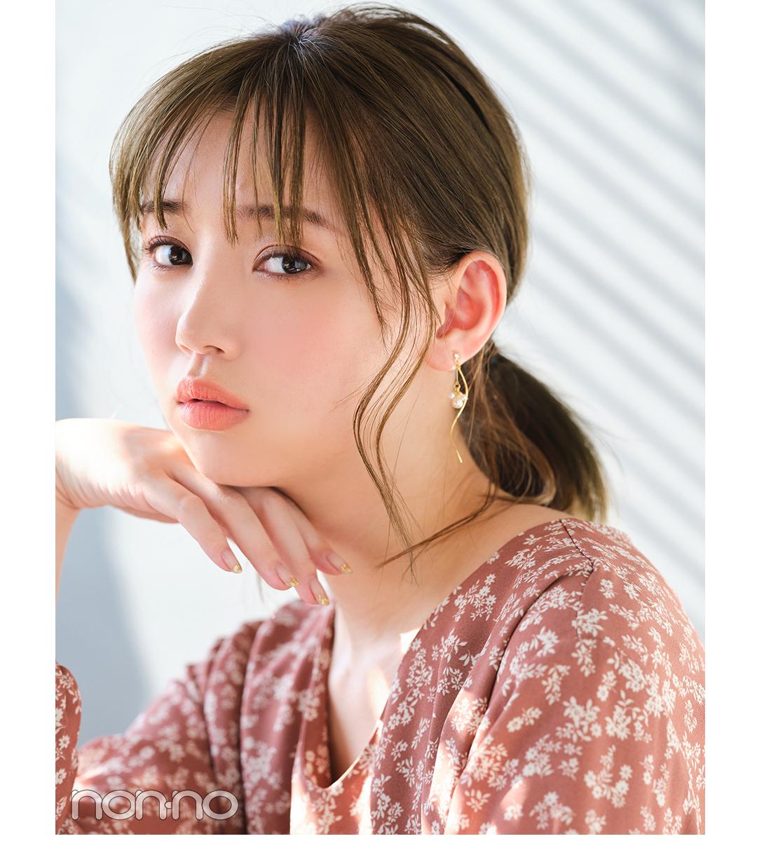 恋活ヘアアレ2 好感ひとつ結び 江野沢愛美