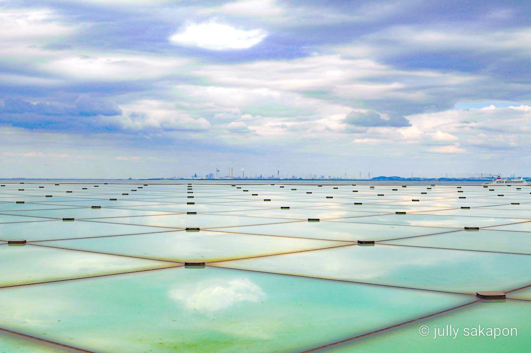 【さかぽんの冒険】空と海に癒される横須賀きっぷ❤️@横須賀美術館_1_7